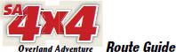 SA4x4 Route Guide