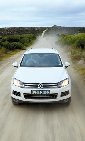 Off-road test: VW Touareg 3 6 V6 FSI - SA 4x4