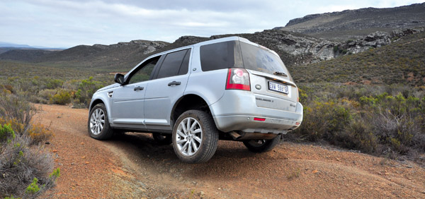 Off-road test: Land Rover Freelander 2 SD4 HSE - SA 4x4