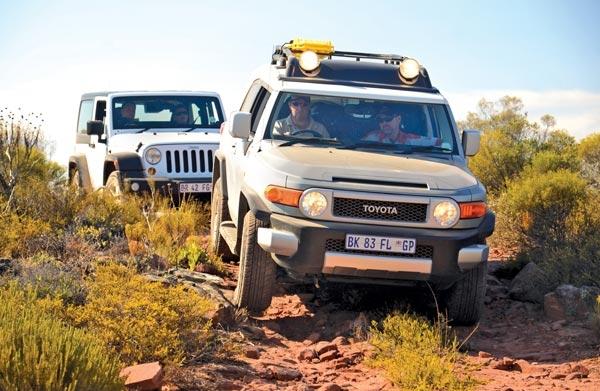 Off Road Test: Jeep Rubicon Vs. Cruiser