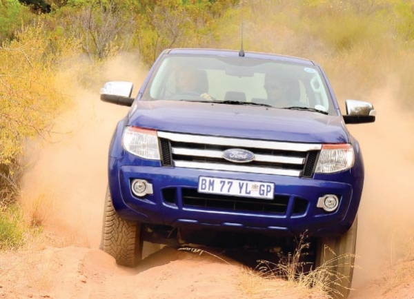 Brute Force OFF-ROAD TEST: FORD RANGER 3 2 XLT AT - SA 4x4