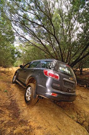 With guns blazing, Off-road test: Chevrolet Trailblazer 2 8