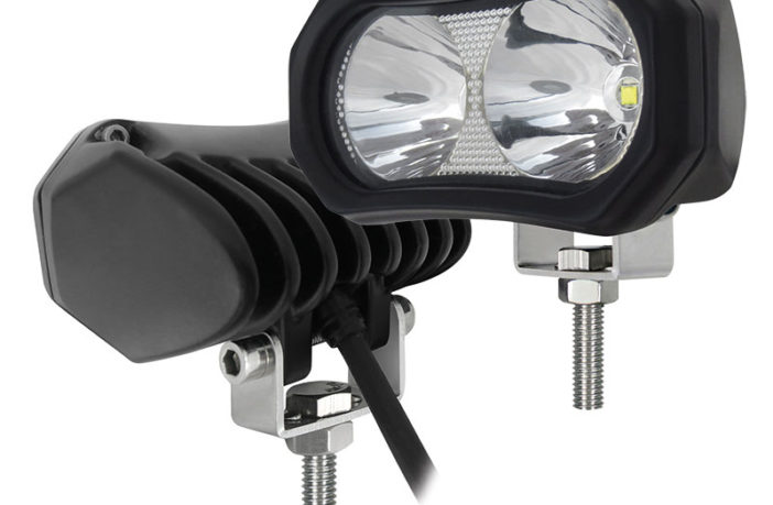 Ironman 4x4 twin-LED work light