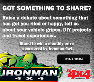 Join the SA4x4 forum