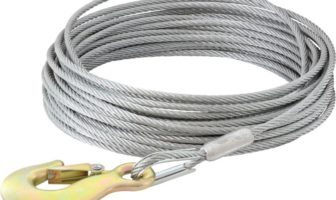Aircraft-grade steel cable