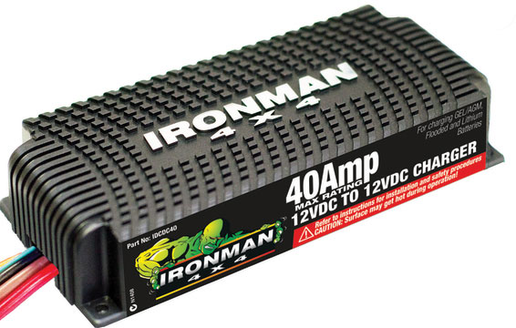 Ironman 4x4 DC to DC 40amp boost