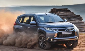 Pajero sport: Right on point
