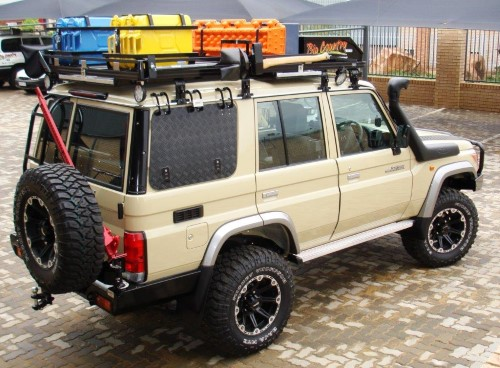 Roofrack Toyota LC76 S/wagon