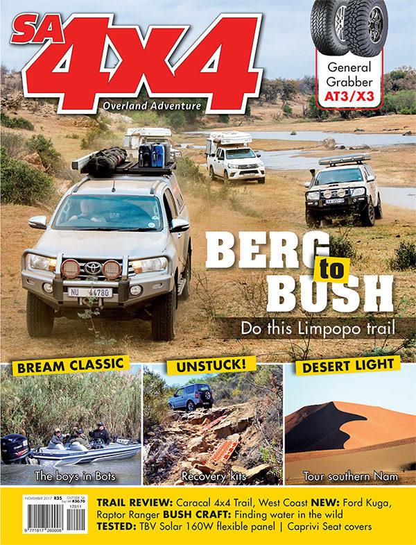 SA4x4 November Edition