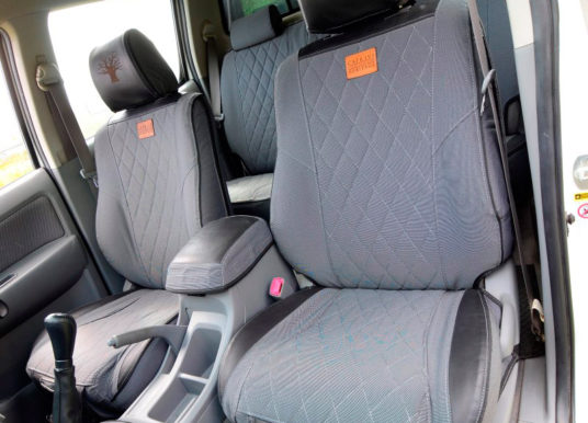 RIDE IN STYLE Seat covers that raise the bar