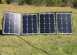 Catching the sun: TBV Solar 160W flexible fold-up solar panel
