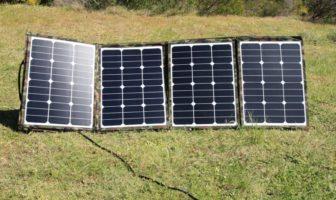 TBV Solar 160W flexible fold-up solar panel