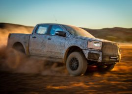 Ford ranger raptor to be powered by a four-banger?