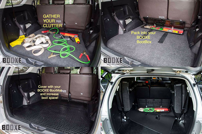 Booxe BootBox Toyota Fortuner