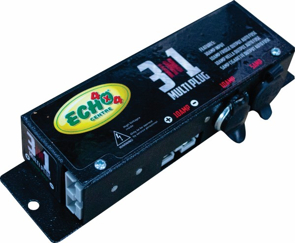 Echo 4x4 3-in-1 multi plug box