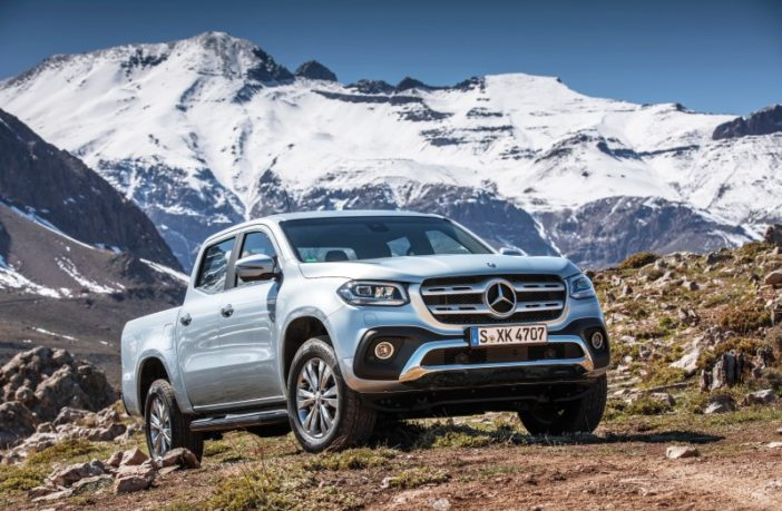Mercedes-Benz X-Klasse Chile 2017 // Mercedes-Benz X-Class Chile 2017
