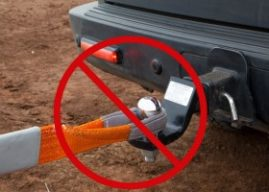 10 things you should not do in a 4×4 recovery