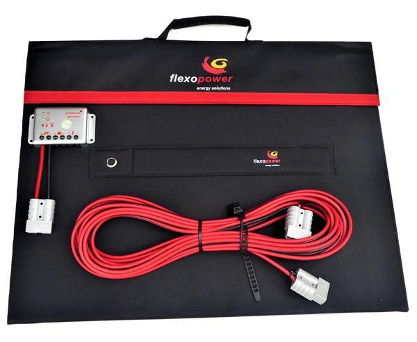 Mojave120 - 14A Regulator - Camping Solar Kit by Flexopower, 120W