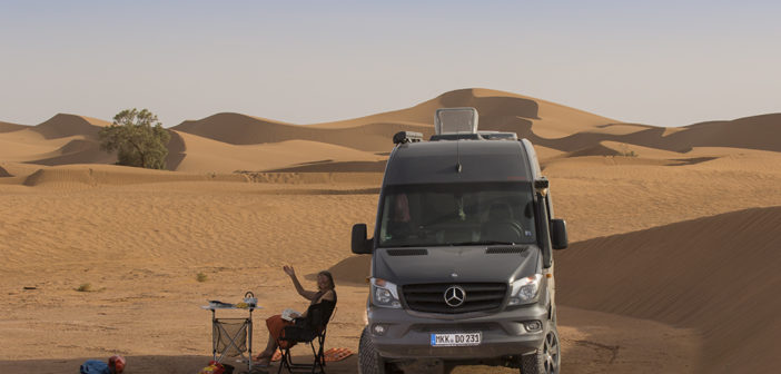 Mercedes in Morocco