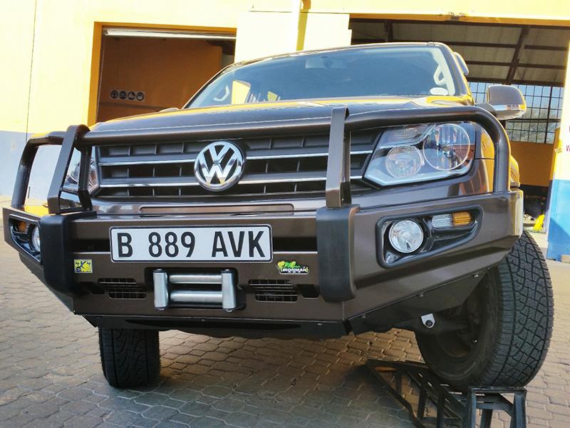 VW Amarok - Commercial Deluxe Bull Bar - SA 4x4