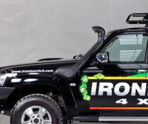 Toyota Prado 120 Series 3 0L Diesel - Ironman 4x4 Snorkel