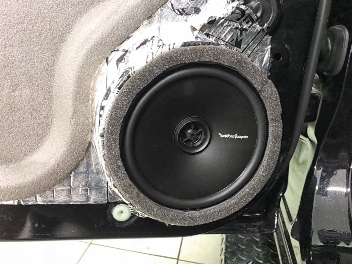 Ironman 44s Black Ops Build Phase 6 Sa 4x4 Rockford Fosgate Punch 45 2 Sale Rear Speakers