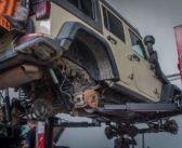 Africa Halfway: Jeep Maintenance
