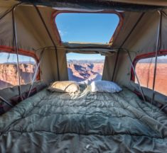 Top of the pops: Rooftop Tents