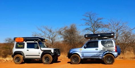 Moremi Sport rooftop tent promotion