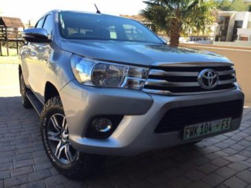 2016 Toyota Hilux Double Cab 4x2
