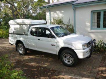 4x4 Mitsubishi Colt Club Cab - Safari ready, fully kitted out, 2003