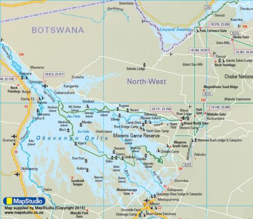 Botswana Dust & Glory: Where we stayed
