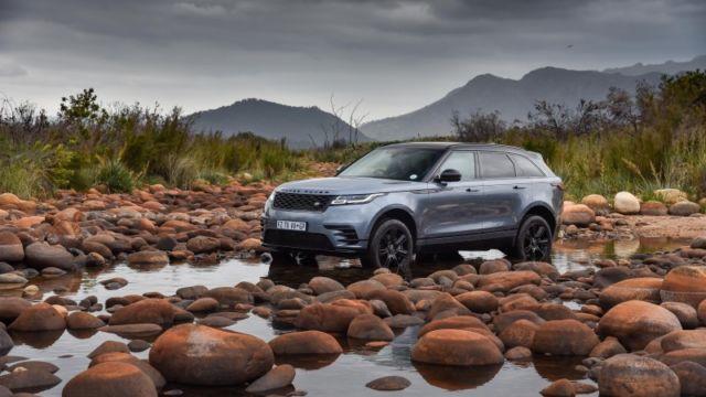 Range Rover Velar drive