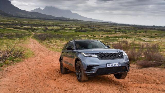 Range Rover Velar terrain