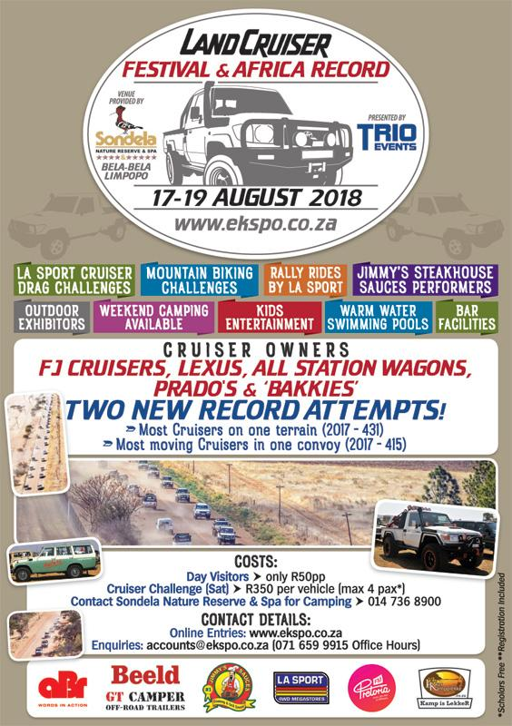 Land Cruiser Festival and Africa Record